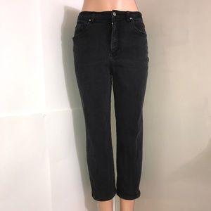 Gloria Vanderbilt Dark Grey Denim Stretch CutJean